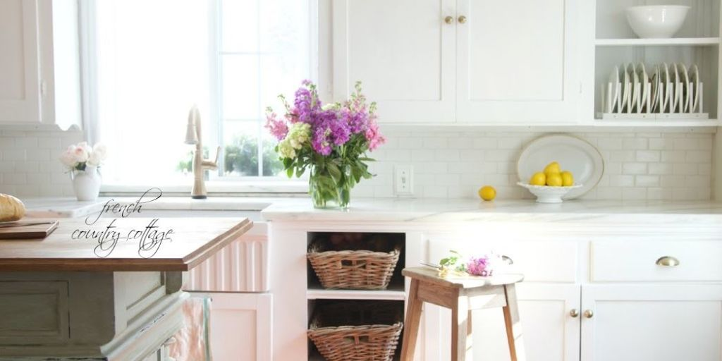 California French Country Style Cottage House Tour