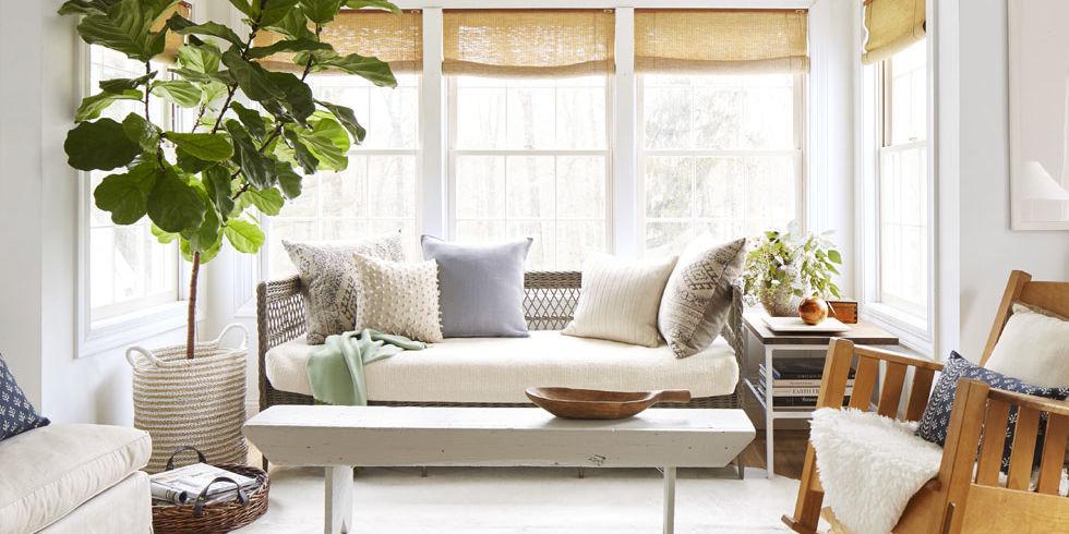 Ideas to create a Rural Farmhouse landscape 1425413395 neutral home sitting room 0415
