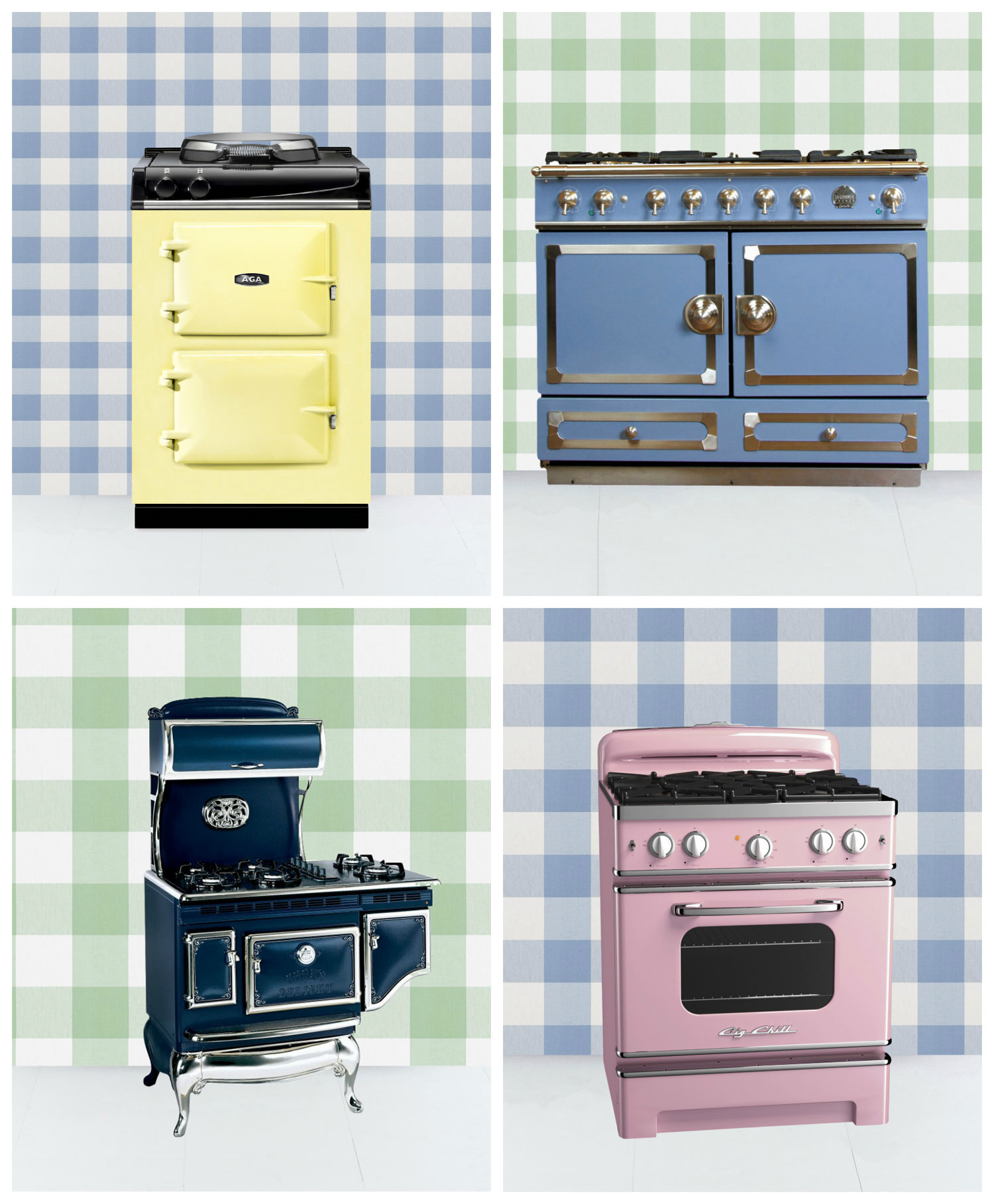 Retro kitchen stove