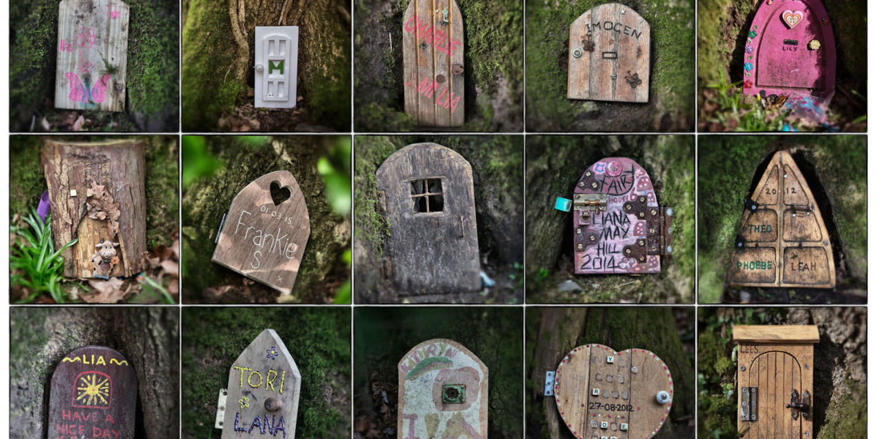 Fairy door crackdown in english woods outdoor living for The faerie door