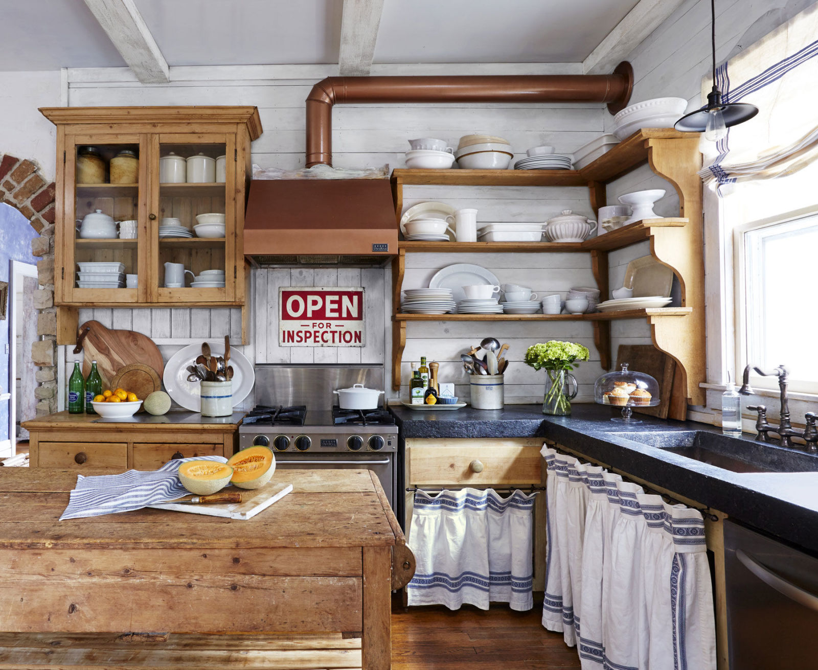 Farm Kitchen Decorating Ideas dianna palmer country kitchen - country kitchen decorating ideas