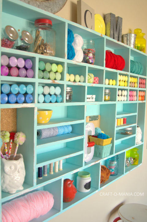 Inspiring Craft Room Storage Ideas Craft Room