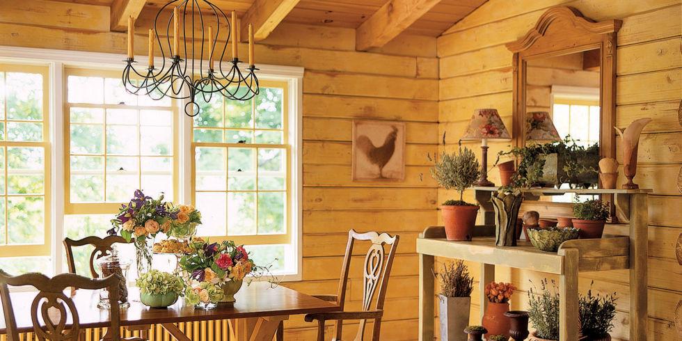 Lucinda Rooney Vermont Log Cabin