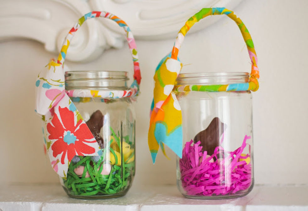 Easter mason jars spring mason jar craft ideas negle Image collections