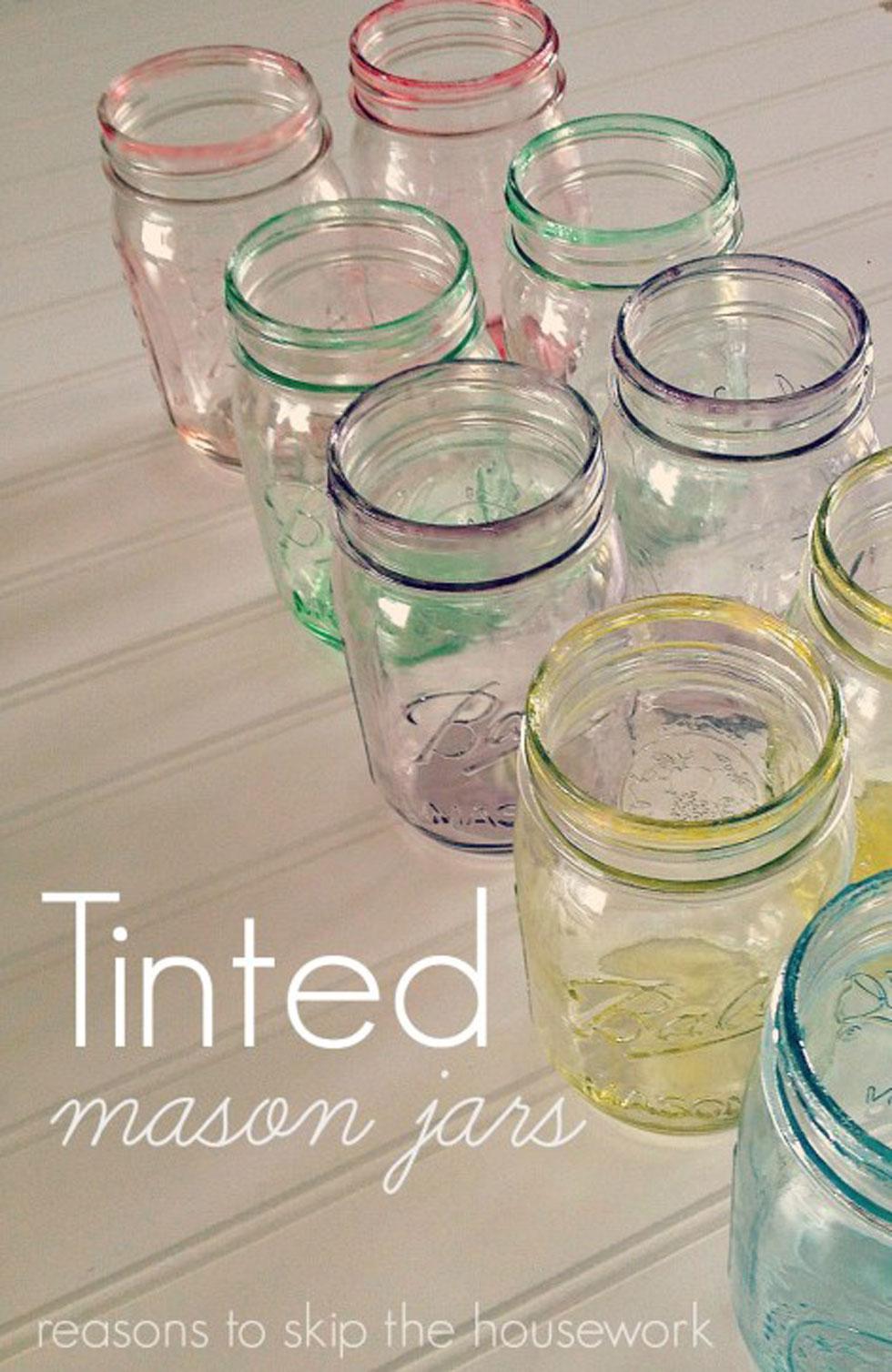 Easter Mason Jars Spring Mason Jar Craft Ideas. 15 Amazing Handmade Mason Jar Organization Ideas That Can Help You