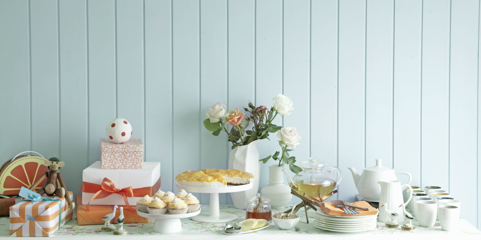27 baby shower ideas baby shower food and decorations for Baby shower decoration images