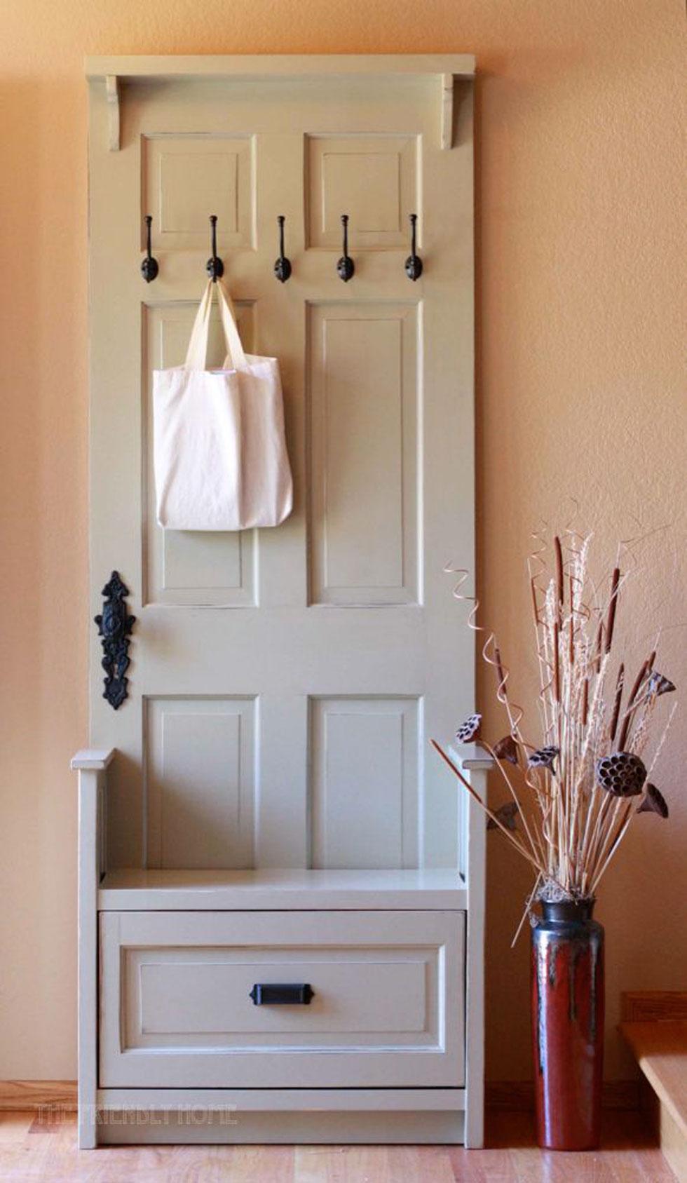 & Repurposed Door Crafts - Easy Craft Ideas pezcame.com