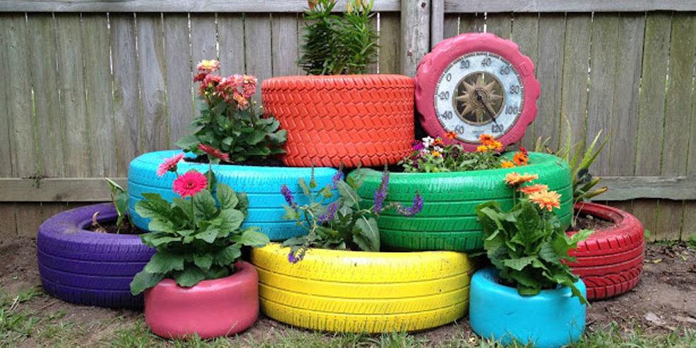 10 Creative DIY Garden Planters Made from Upcycled Finds - DIY Planter Box - 10 Creative DIY Garden Planters Made From Upcycled Finds - DIY
