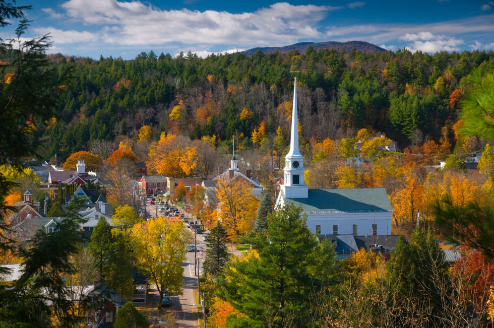 Best Small Towns In America Prettiest Small Towns In America - Us quaint towns map