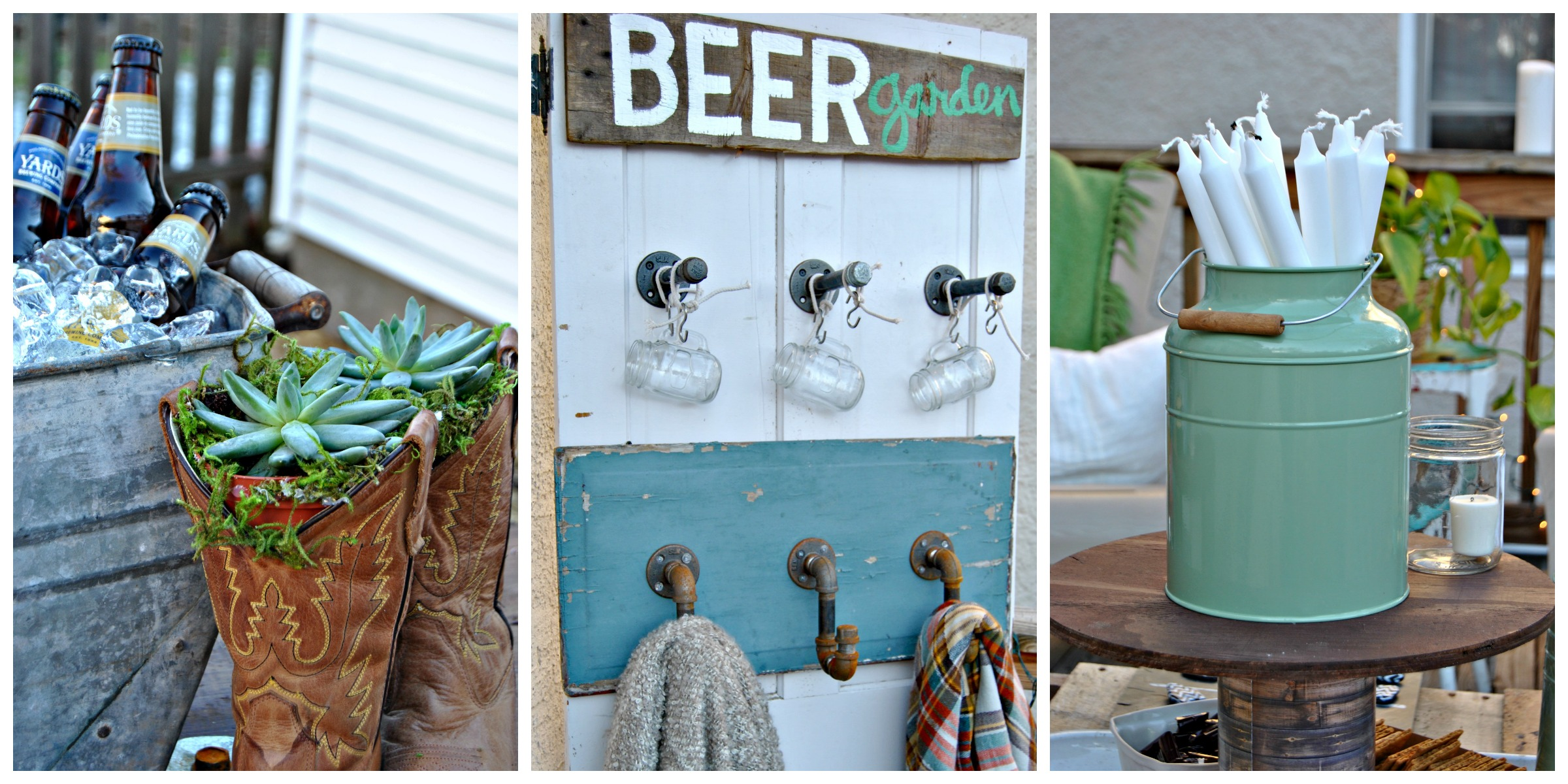 How To Diy A Backyard Beer Garden Party For Oktoberfest