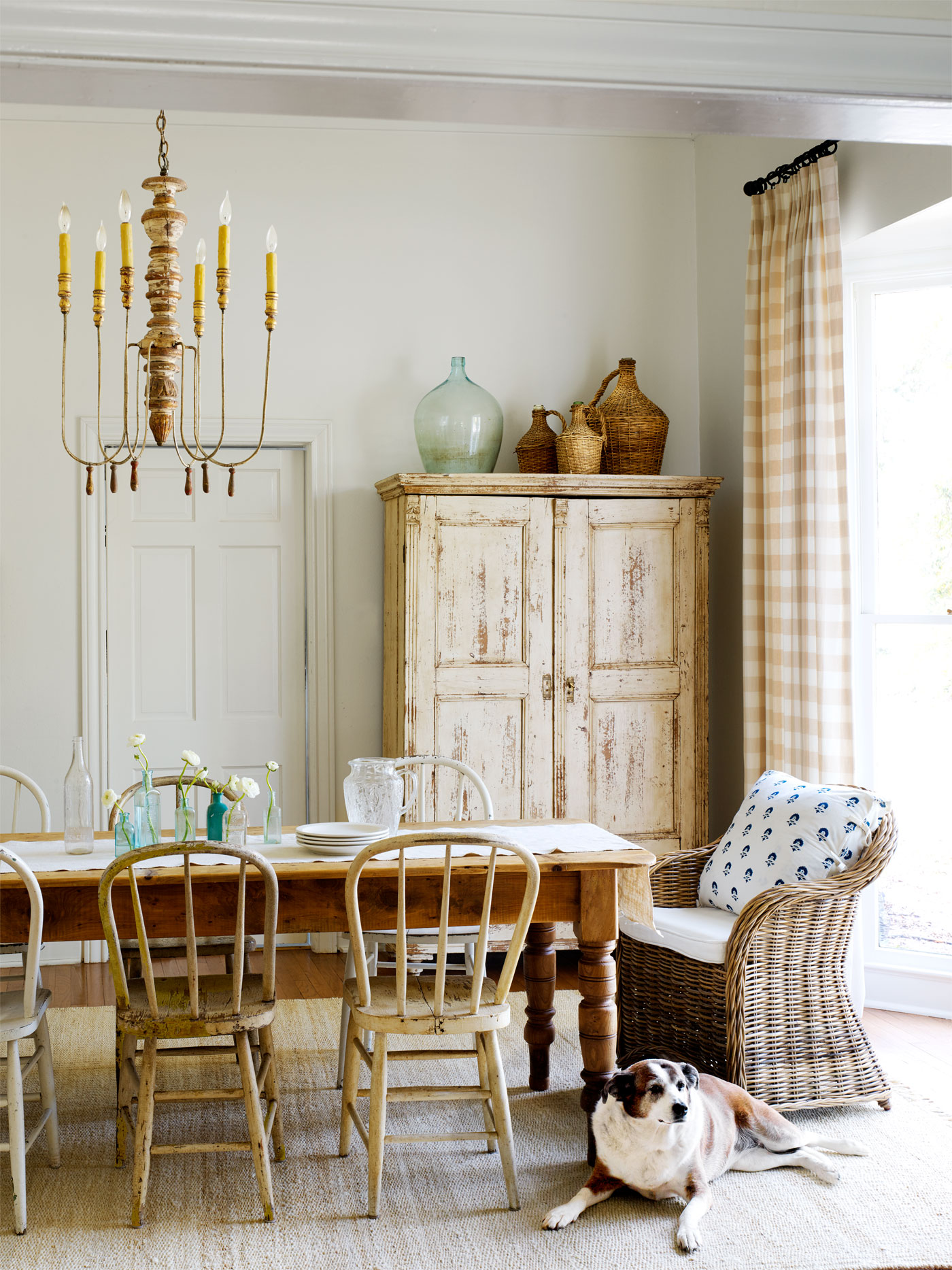 Christi wilson budget decorating budget decorating ideas for Country living dining room ideas