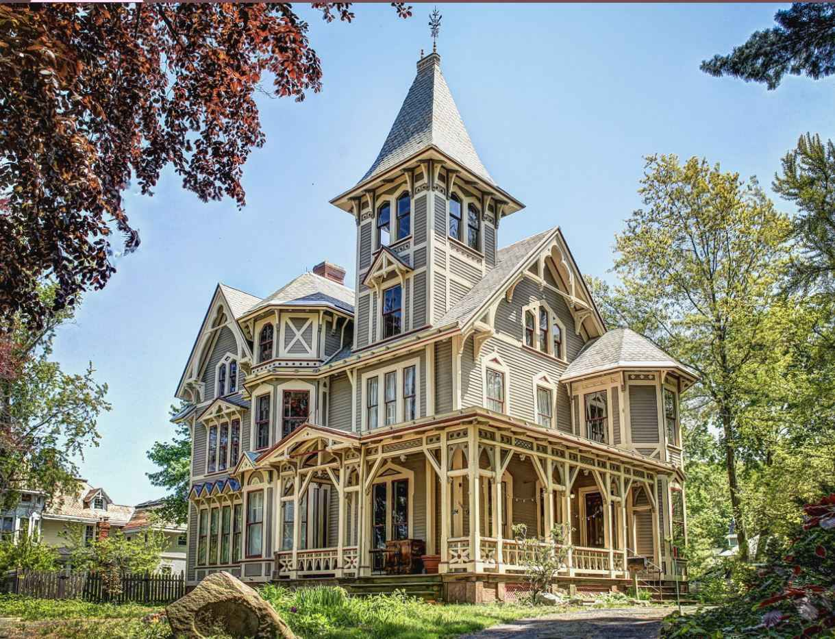 We 39 re hoping this stunning victorian home shows up in our for New houses that look old plans