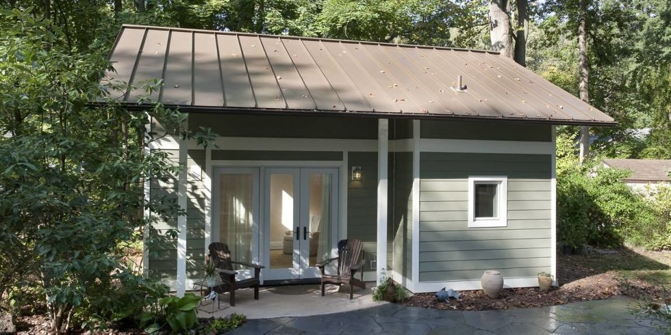 This Adorable Little Maryland Cottage Used to Be a One Car Garage