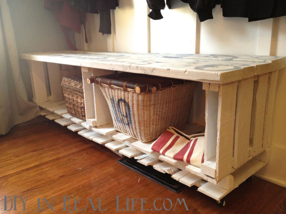 . Wood Pallet Crafts   Easy Craft Ideas