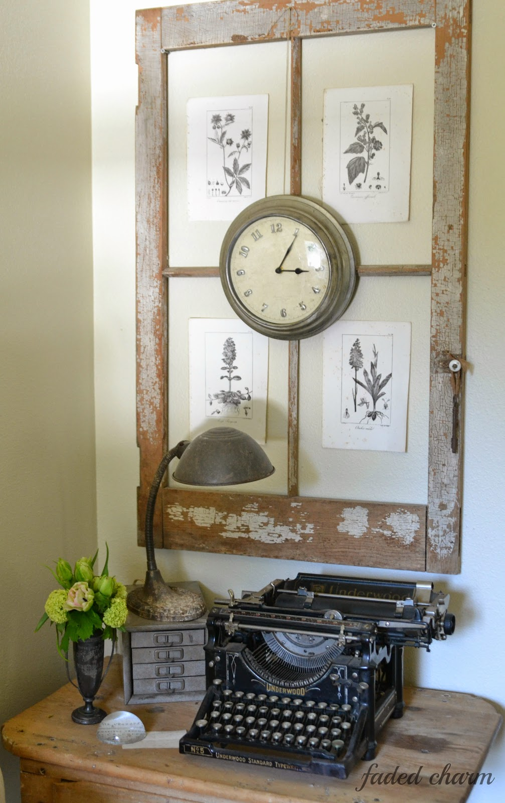 old window frames easy craft ideas