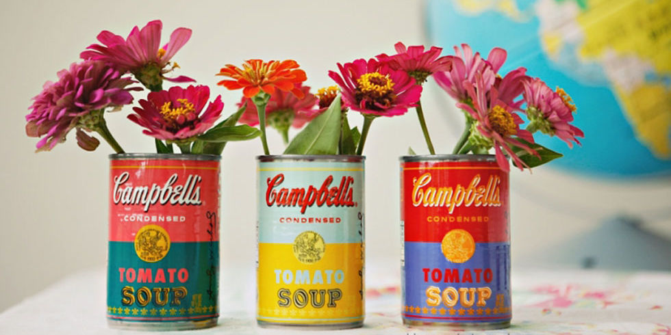 Tin Can Crafts Arts And Ideas