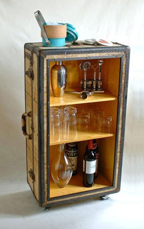 Repurposed Suitcase - Suitcase Crafts