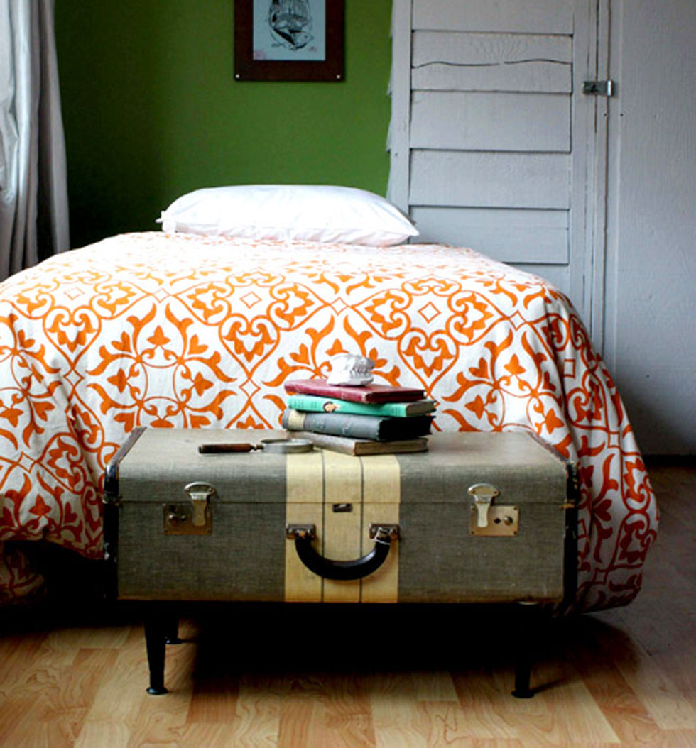 Repurposed Suitcase - Suitcase Crafts