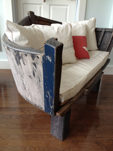 Feens Country Living : 5 Seriously Smart and Creative Ideas for Repurposing Boats ...