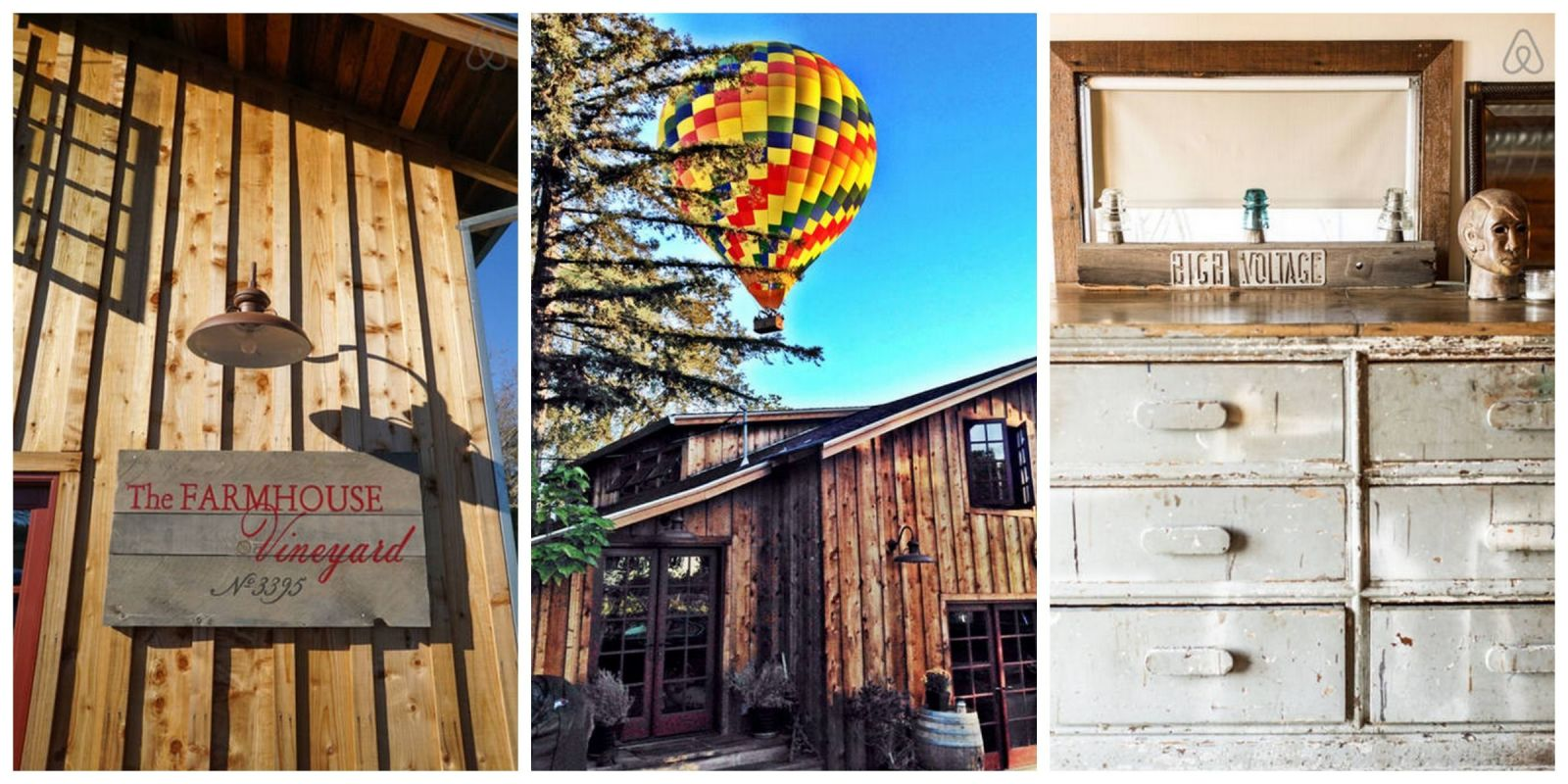 This renovated barn in napa valley offers the perfect for Holiday craft fair napa ca