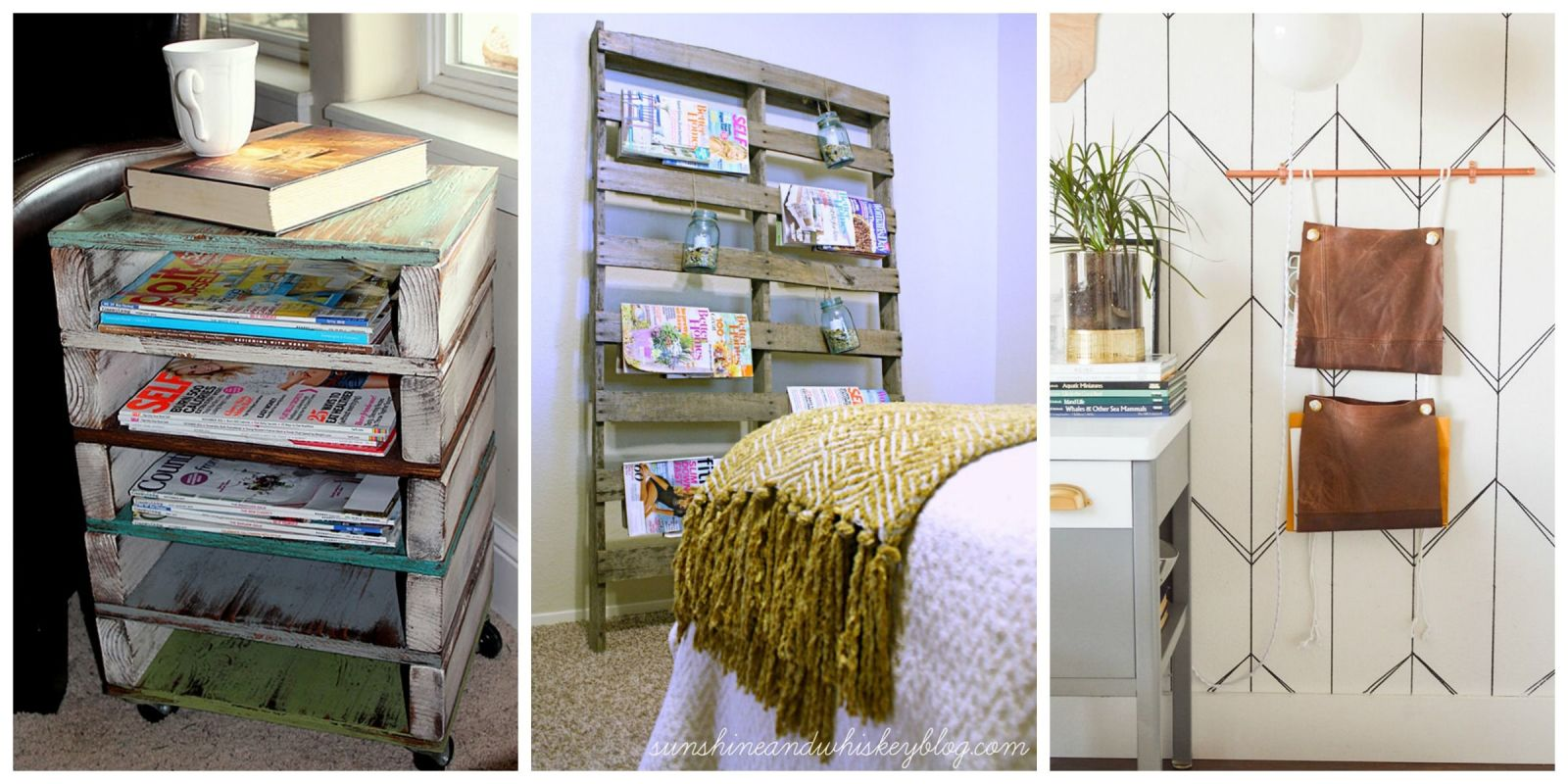 11 clever diy magazine storage ideas diy magazine holder Homemade craft storage ideas