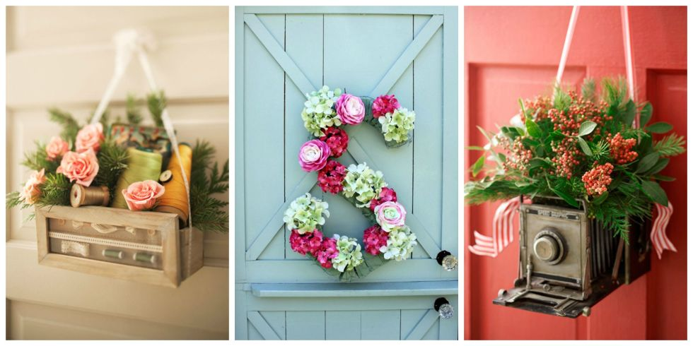 12 Beautiful Decorations To Hang On Your Door That Aren T Wreaths