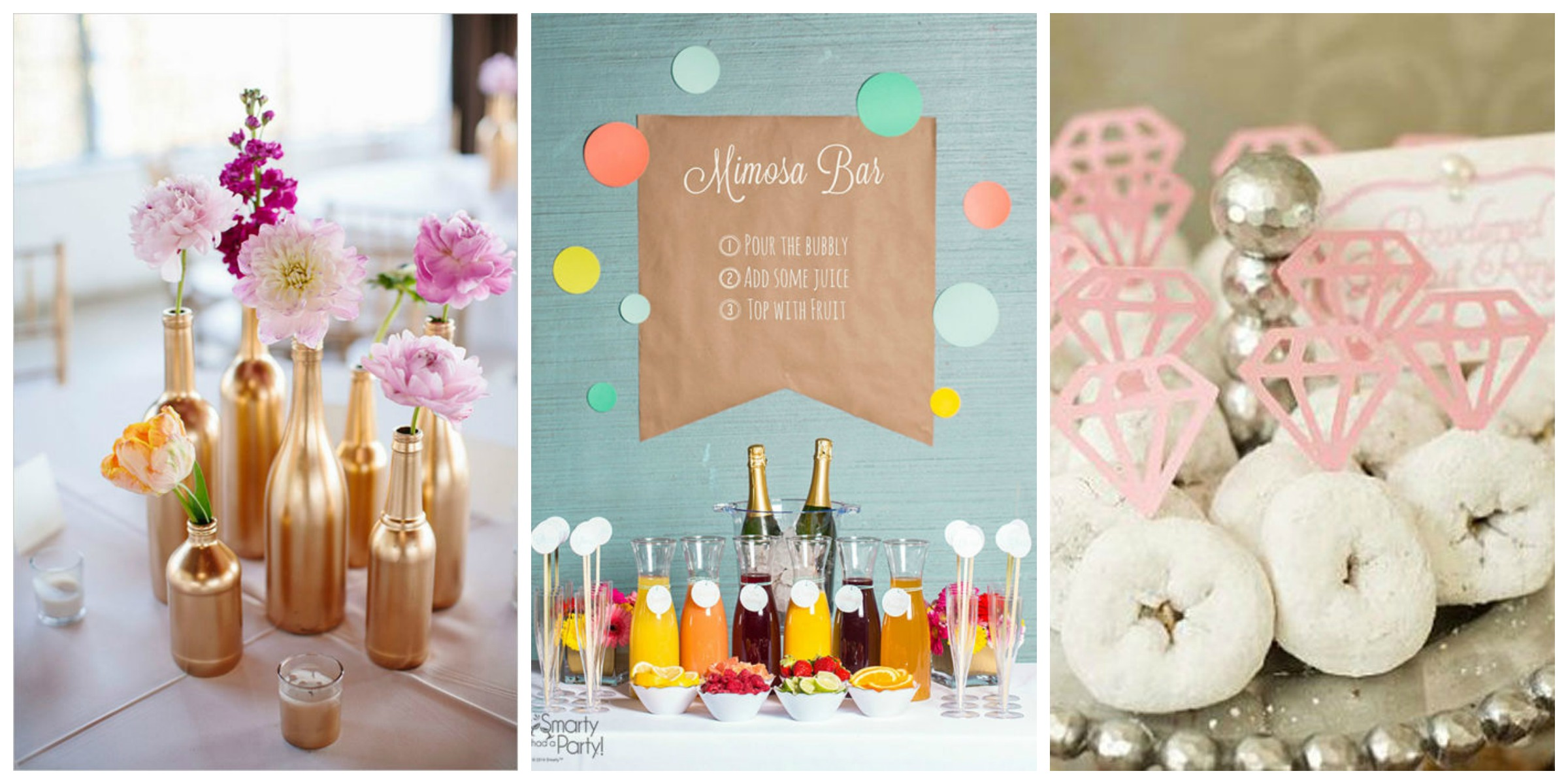 ideas fun themes food and decorating ideas for wedding showers