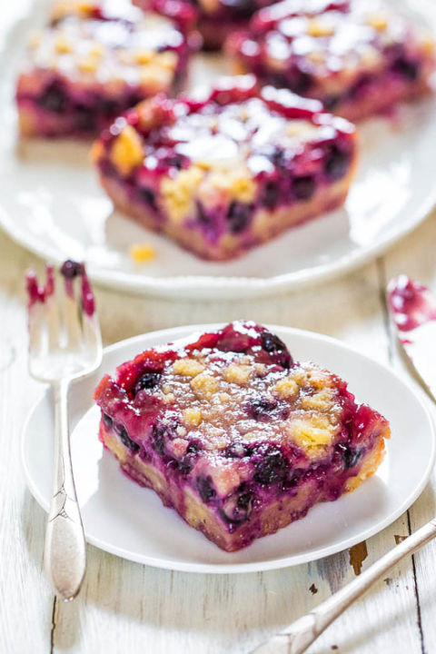 Quick easy blueberry dessert recipes