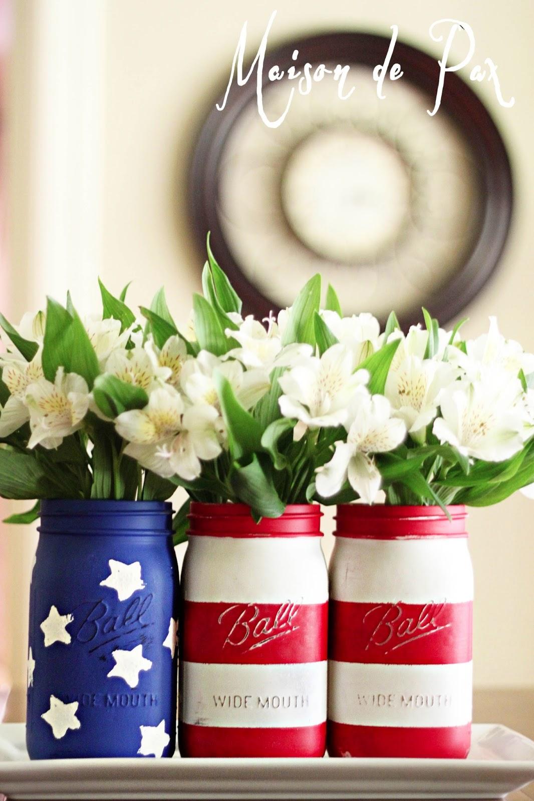 4th Of July Mason Jars Patriotic Mason Jar Craft Amp Food Ideas 4th Of July  Mason. 15 Amazing Handmade Mason Jar Organization Ideas That Can Help You