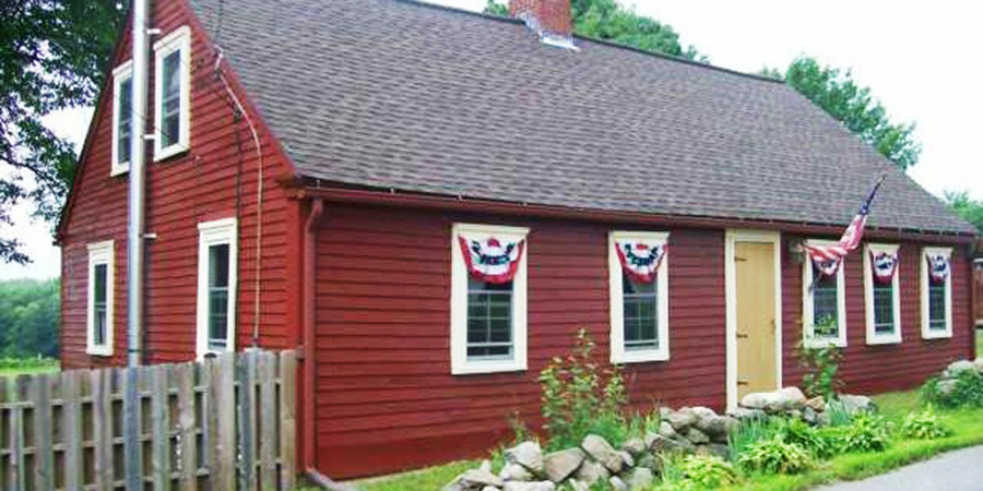 6 Adorable Little Red Houses For Sale Across The Country - Country