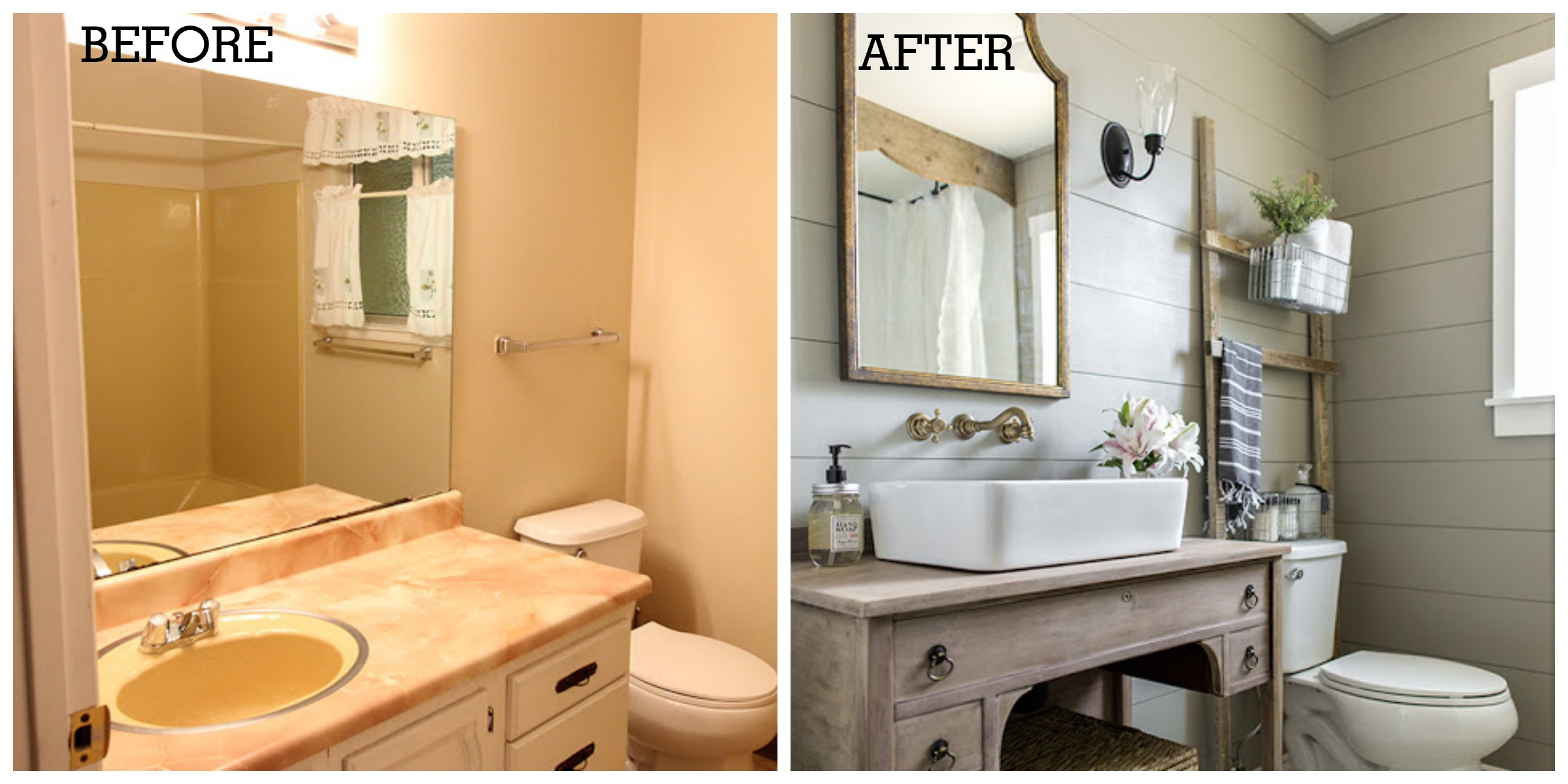 One Of The Most Beautiful Diy Bathroom Renovations Ever
