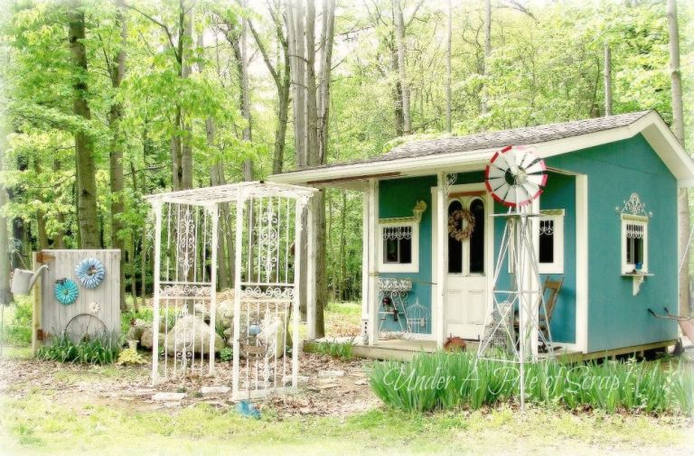 Garden Sheds Ohio she shed trend - how to make your own she shed