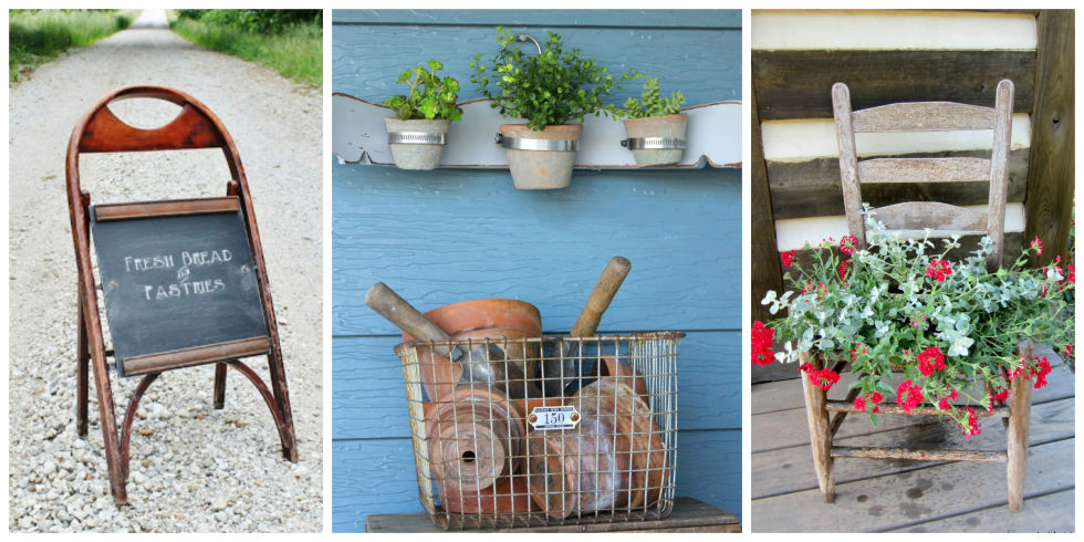 Repurposing Old Furniture 13 creative ways to repurpose old chairs - repurposed furniture ideas