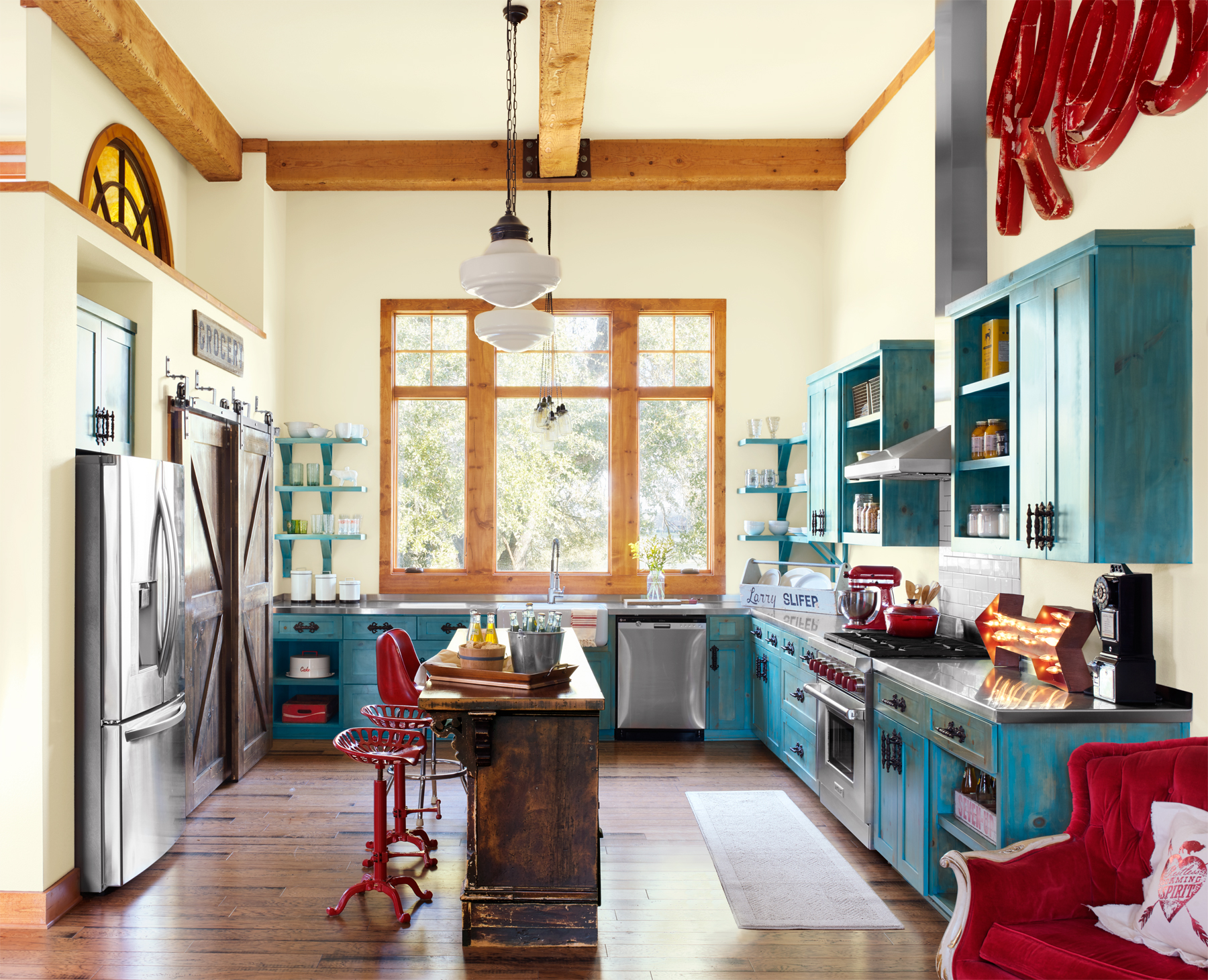 Vintage Kitchen Ideas: 10 Ways To Add Colorful Vintage Style To Your Kitchen