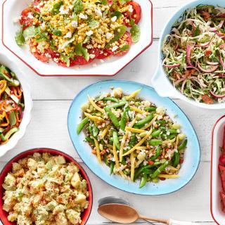 Easy summer buffet recipes