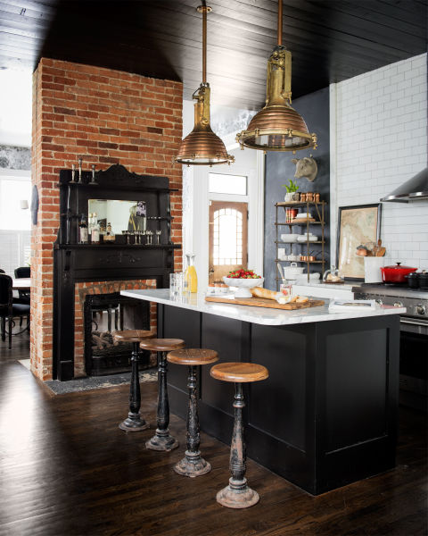 Holly williams nashville home holly williams decorating for The style kitchen nashville