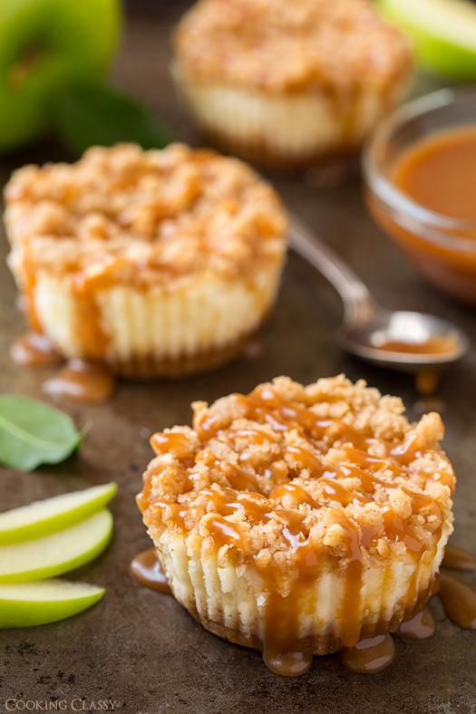 Easy miniature cheesecake recipes