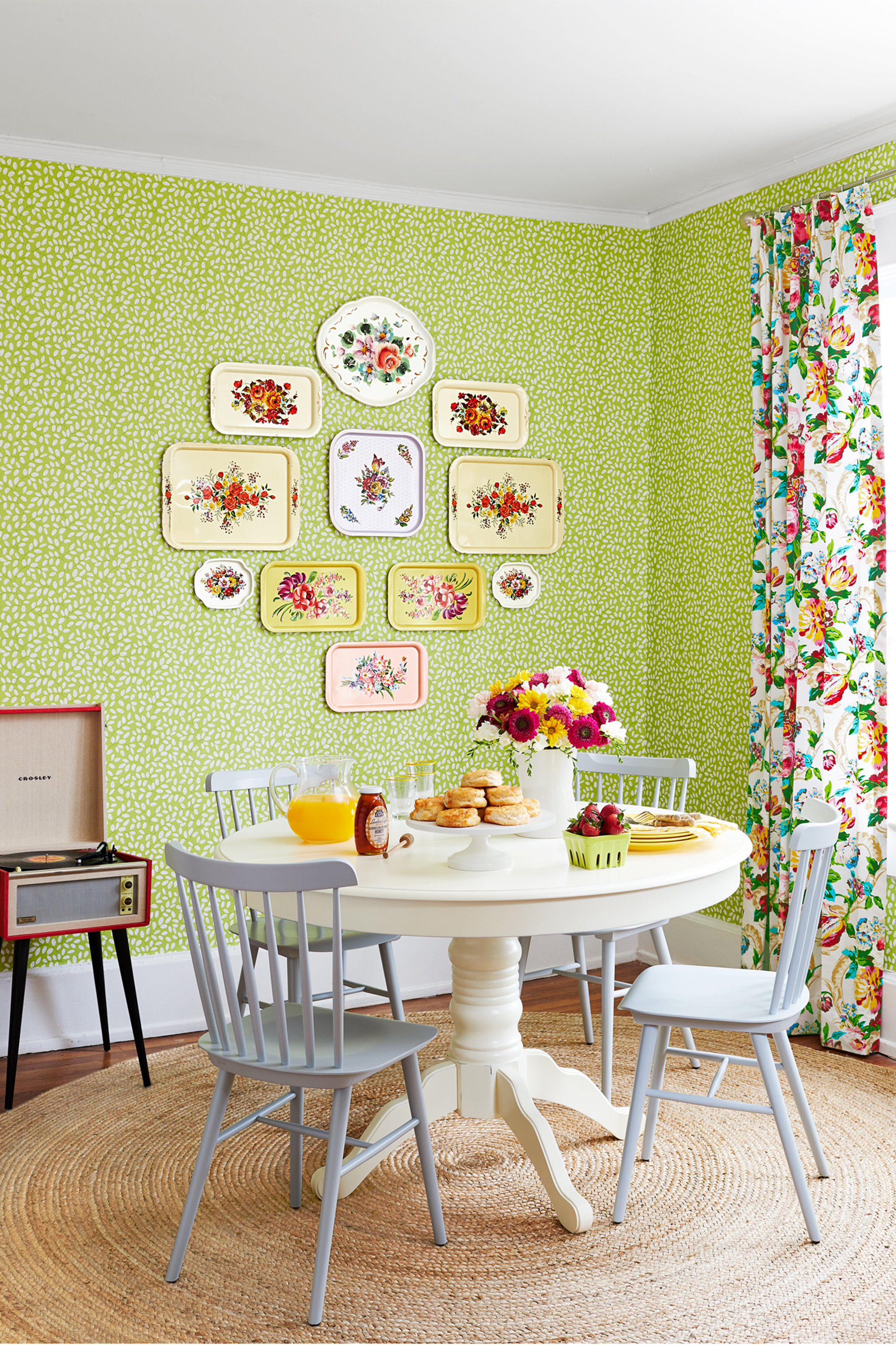Decorating with green 40 ideas for green rooms and home decor