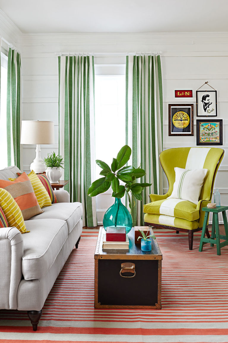 Striped Living Room Curtains 14 Design Ideas Inspired By Classic Country Music Songs