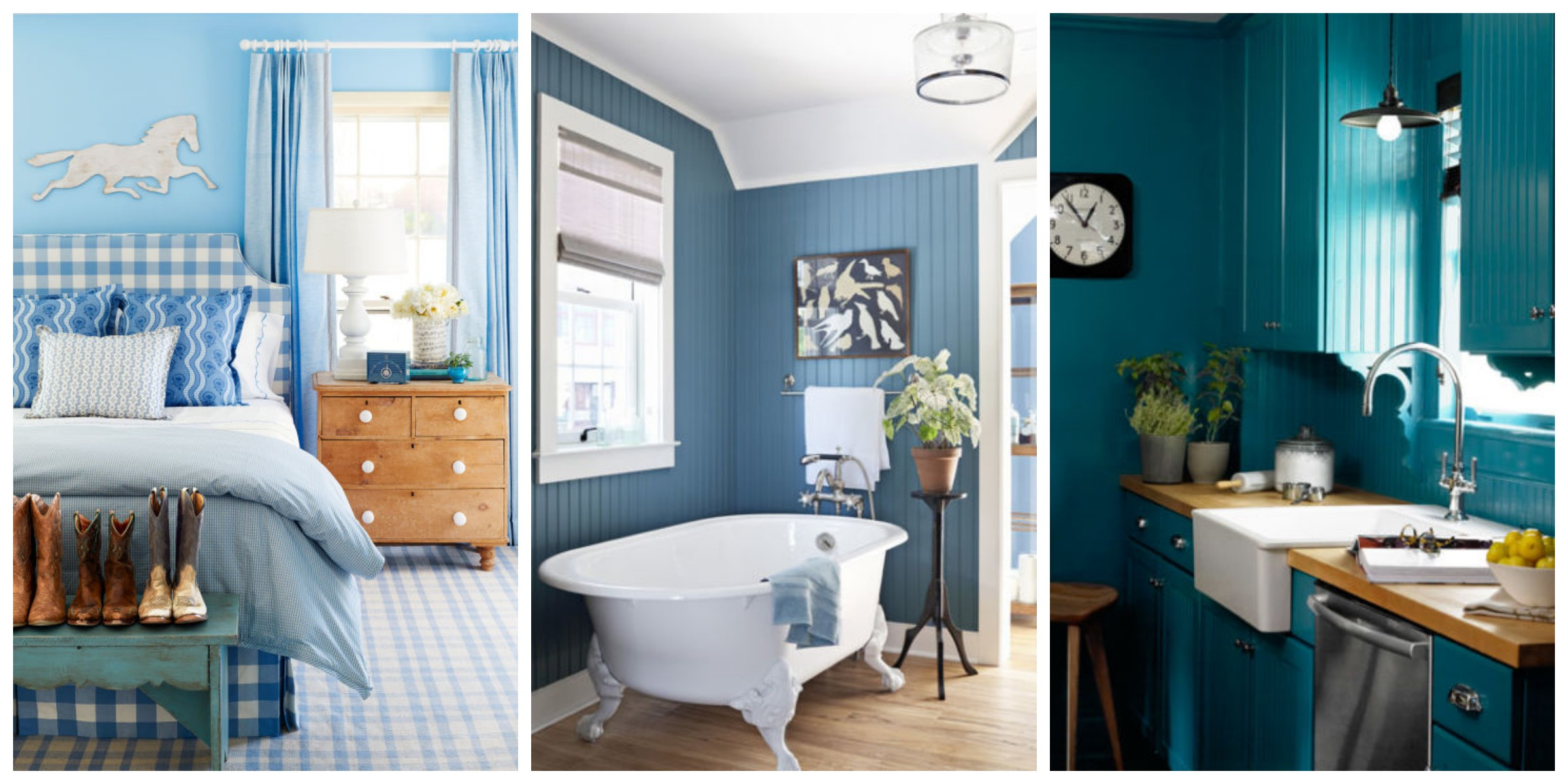 Blue Rooms Ideas For Blue Rooms And Home Decor