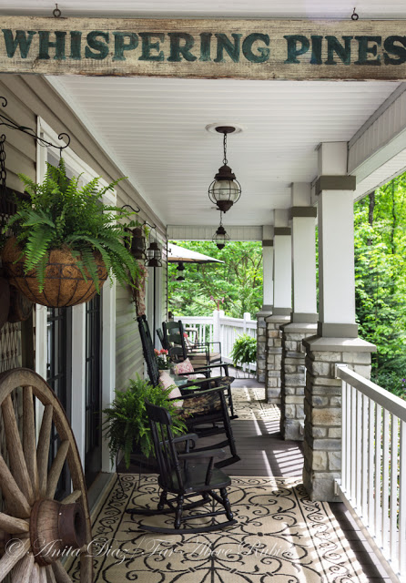 7 things we love about this delightfully laid back for Country style porch