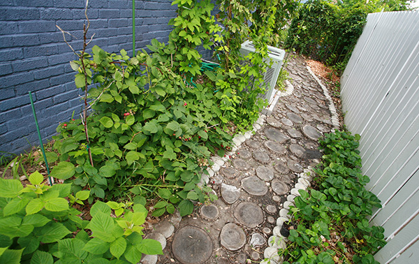 10 DIY Garden Path Ideas How to Make a Garden Walkway
