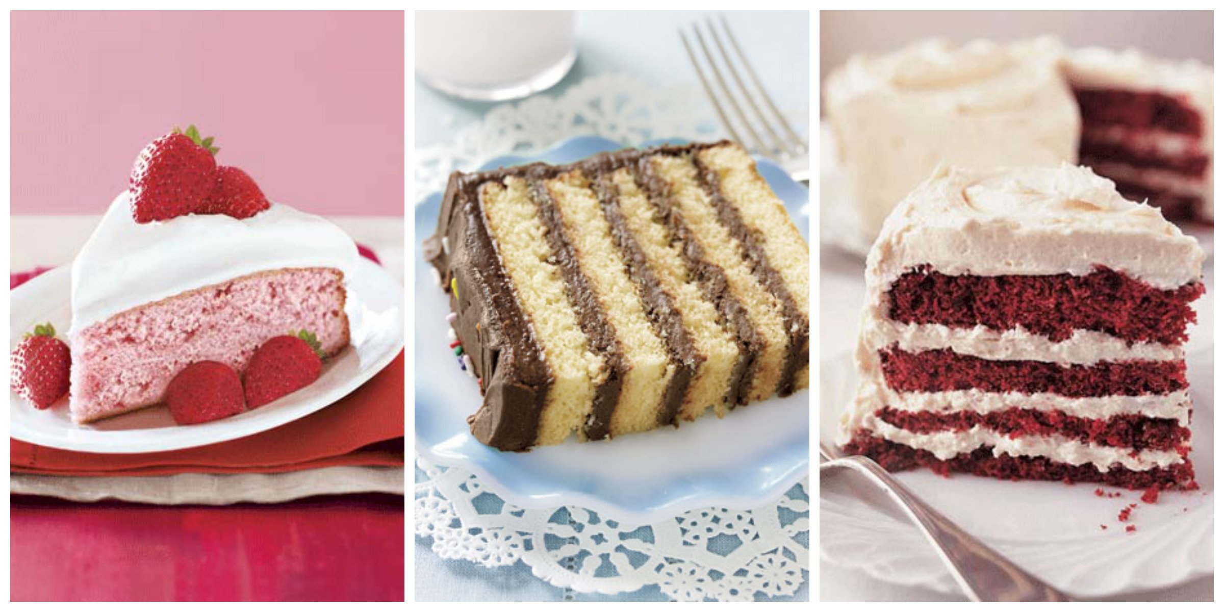 65 Best Homemade Cake Recipes - How to Make an Easy Cake