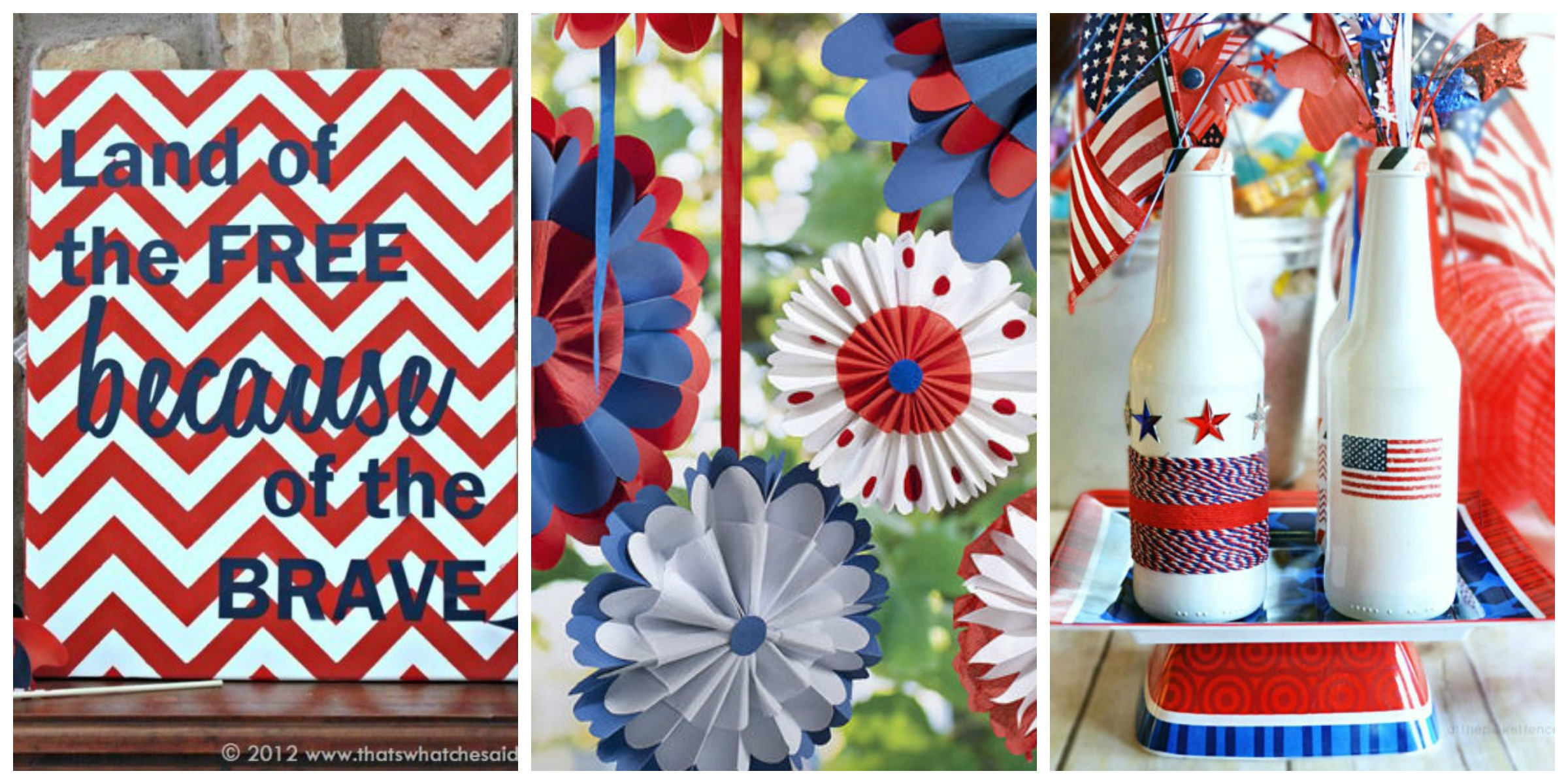 26 easy 4th of july crafts patriotic craft ideas diy for 4th of july decorating ideas for outside