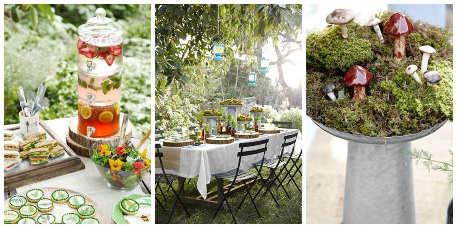Garden Party Decor Victorian Party Ideas