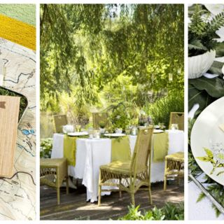 stylists laurel walter and jennifer bright offer decoration ideas that take outdoor dinner parties to the - Outdoor Party Supplies