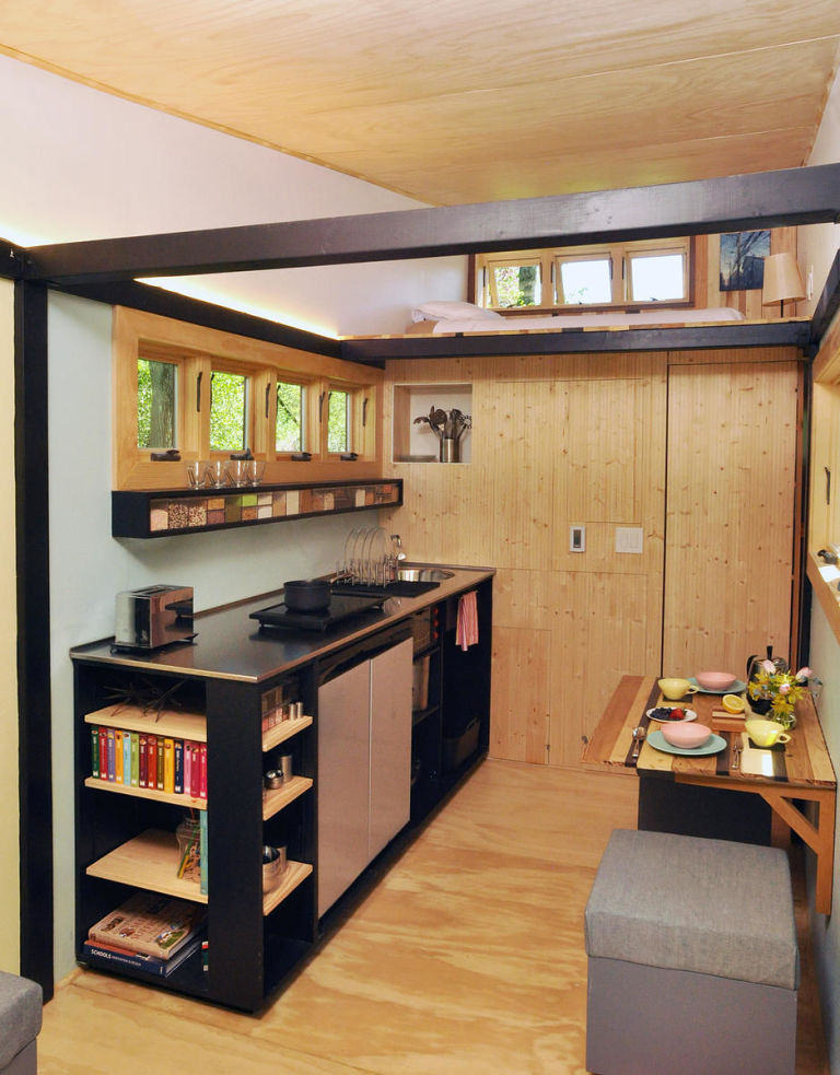 Stupendous 7 Small Space Decorating Tips To Steal From This Tiny Mobile Home Largest Home Design Picture Inspirations Pitcheantrous