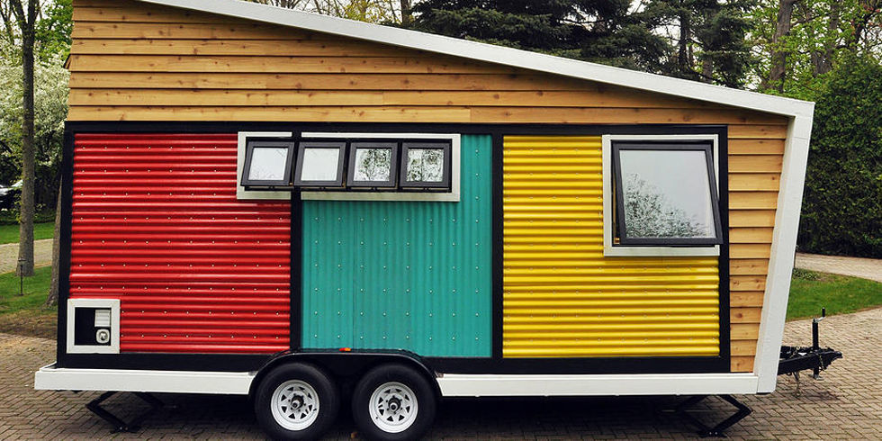 7 small space decorating tips to steal from this tiny mobile home tiny box home - Small Mobile Houses