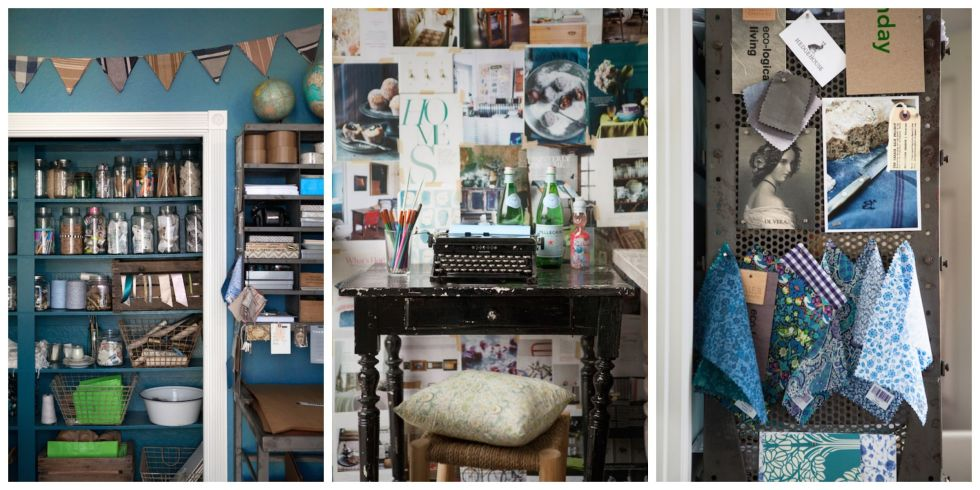 8 Inspiring Home Office Decorating Ideas From a Cozy and Creative Workspace  - Elsie Green House and Home Studio Tour