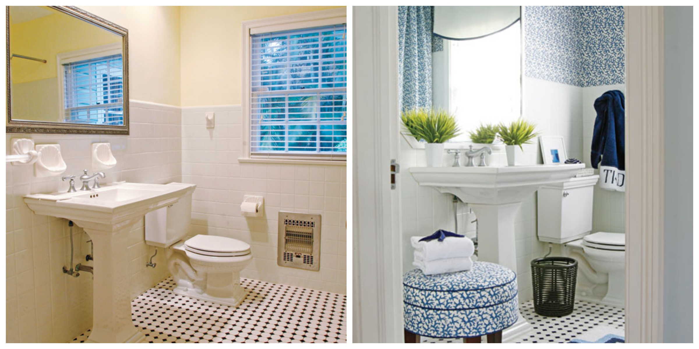 Redecorating a kids bathroom on a budget our little for Redecorating a small bathroom